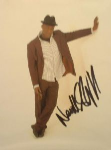 A080 - NEVILLE STAPLE Autographed top 10 x 8 photo